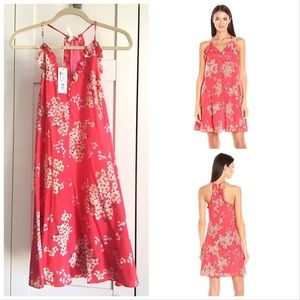 NWT REBECCA TAYLOR PHLOX FLORAL SILK SLIP DRESS
